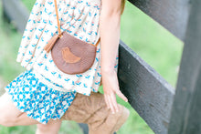 Leather Bucket Purse