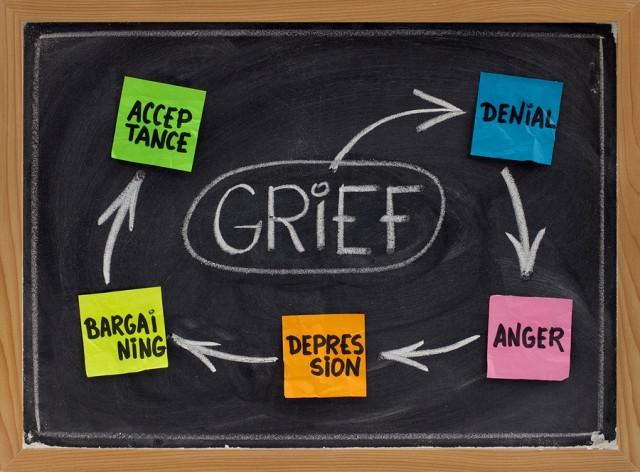 Five Stages of Grief: Moving Through the Stages Toward Healing