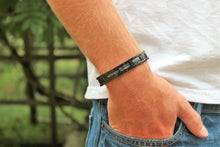 With God All Things Are Possible - Matthew 19:26 - Titanium Bracelet - Magnetic Therapy