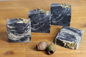 Soapy Butter Co Melbourne charcoal detox bar handmade soap