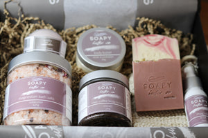 Luxury body product gift pack soapy butter co melbourne