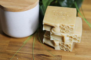 Soapy Butter Co Melbourne natural handmade soap goats milk honey