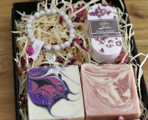 Soapy Butter Co Melbourne handmade soap & bracelet gift pack