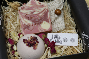 Gift Pack - Bath Bomb, Soap & Earrings