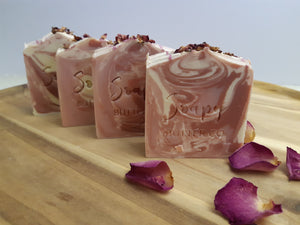 Handmade soap lily rose soapy butter co melbourne
