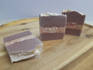 Soapy Butter co melbourne natural handmade soap strawberry champagne