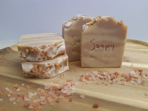 Soapy Butter Co Natural Handmade Soap Rosewood Coconut Cream