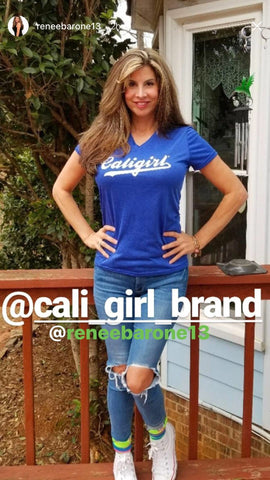 Caligirl Inspired by Dodger Blue
