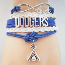 Friendship Bracelet Inspired by Dodgers/Bat