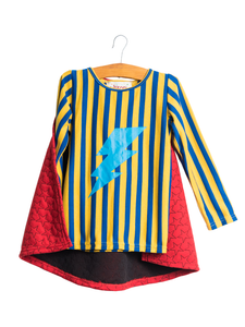 Superhero Top with Lightning Cape