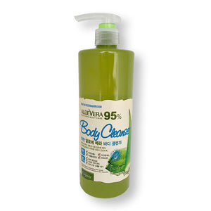 White Organia Good nature 95% Aloe Vera Body Cleanser