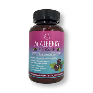 Acai Berry Extract (4:1) Natural Supplement