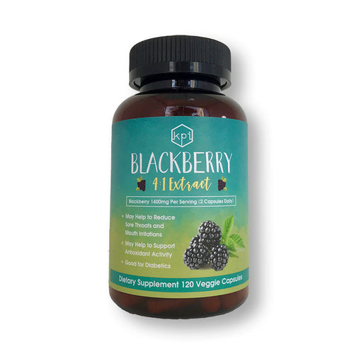 Blackberry Extract (4:1) Natural Supplement