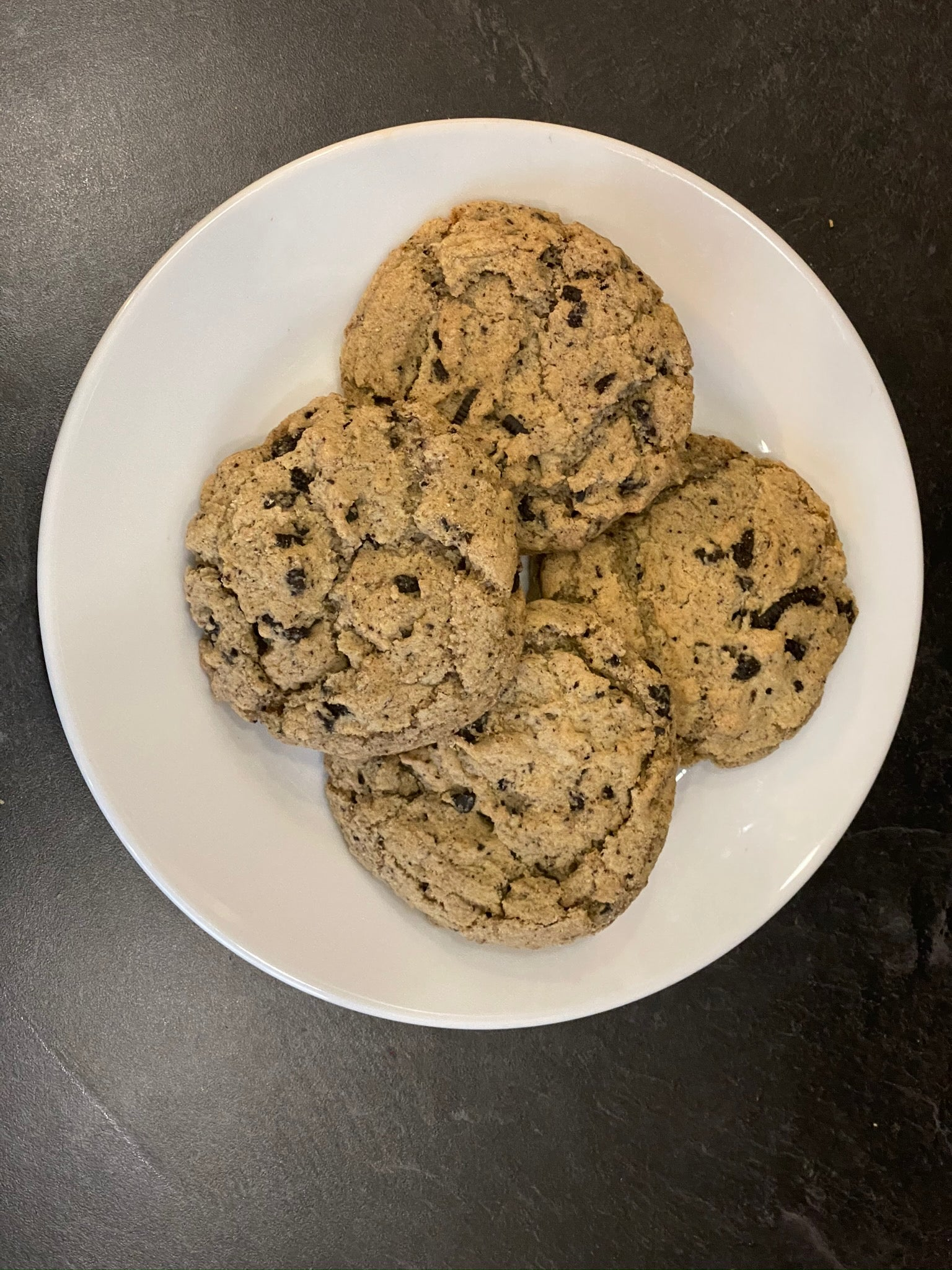 Vegan Cookies And Cream Cookies