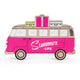Pink Wooden Westfalia decor