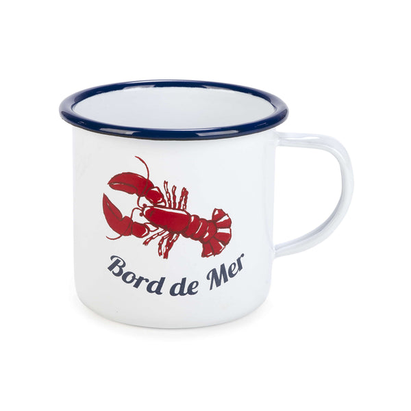 "Lobster ""Bord de Mer"" Mug  ***Only one left!!!***"