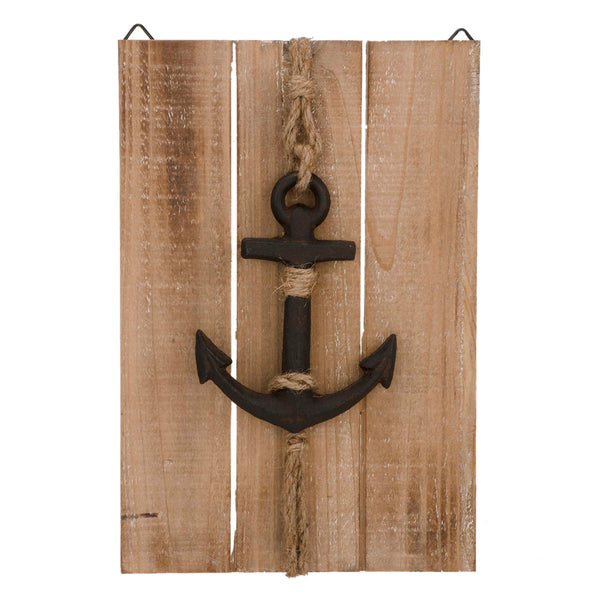 Wood Anchor Wall Plaque. ***Only one left!!!***