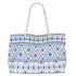 Beach bag offer in blue and white or turquoise/aqua and white