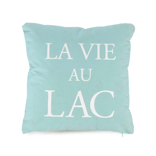 "Aqua ""La Vie au Lac"" Cushion"