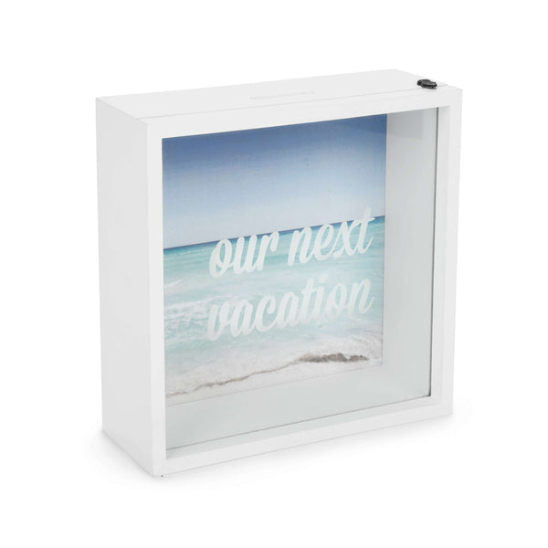 Our Next Vacation Wall Money Box