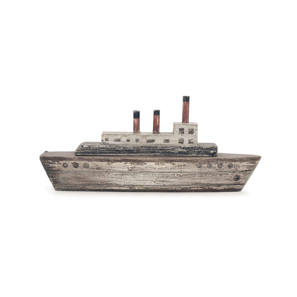Decorative antique ship