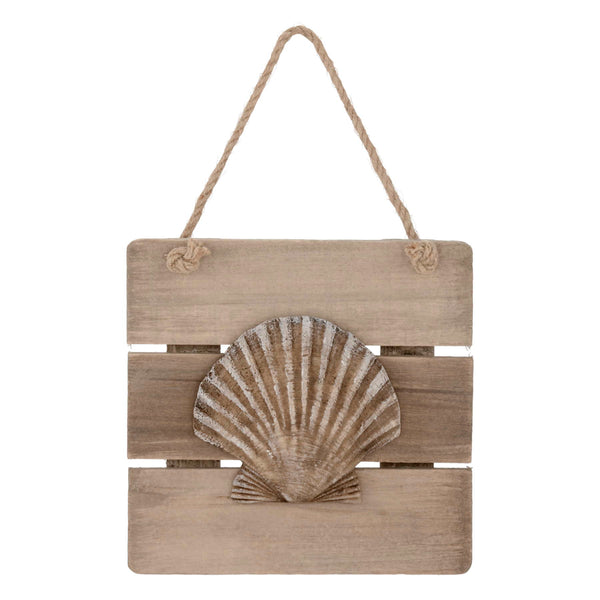 Hanging wall plaque - seashell