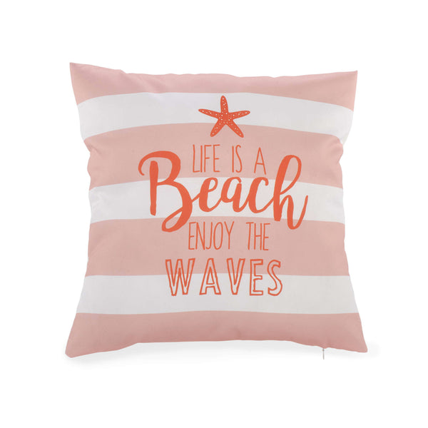 Life is a Beach Enjoy the Waves Cushion
