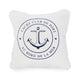 YACHT CLUB DE PORT - BORD DE LA MER anchor 12x12 cushion