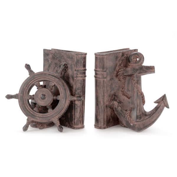 Nautical style bookends
