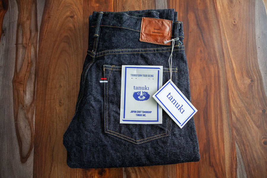Denim Review: Tanuki's Red Cast Denim in Regular Straight RC3328R