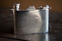 Vintage Pewter Camera Flask - Made in England