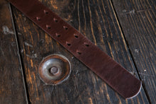 "1.5"" Dark Brown Tärnsjö Swedish Vegetable Tanned Leather - Double or Single Prong Quick Release Belt - Brass, Nickel, Copper - Tarnsjo"