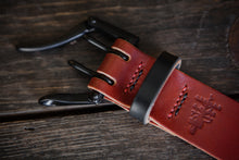 "Numbered Limited Edition 1.5"" Red & Black Tärnsjö Double Prong Quick Release Belt"