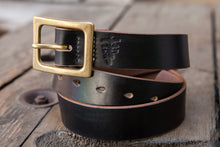 35mm Black Horween Chromexcel Japanese Garrison Belt