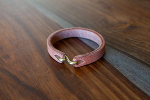 Hermann Oak Old World Harness Cuff
