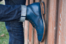 PTC X Santalum Collab #1 - The Indigo Dyed Service Boot