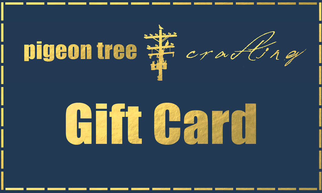 Pigeon Tree Crafting Gift Card