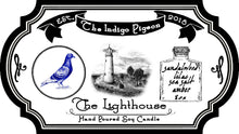 """The Lighthouse"" part 3 of 3 in 'The Indigo Pigeon' Candle Series"