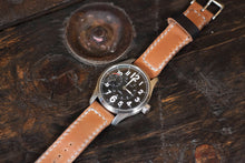 18 - 22mm Shell Cordovan Watch Strap Hand Stitched Made to Order and Customizable