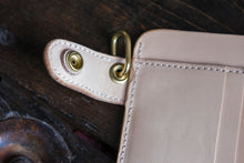 Natural Vegetable Tanned Vegtan Mid-Wallet Snap Bifold Version 2!