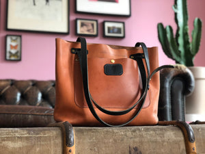 The Convertible Satchel - From Shoulder Bag to Crossbody in 1 Second!