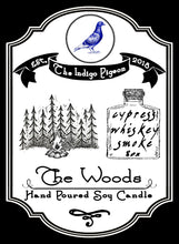 """The Woods"" part 2 of 3 in 'The Indigo Pigeon' Candle Series"