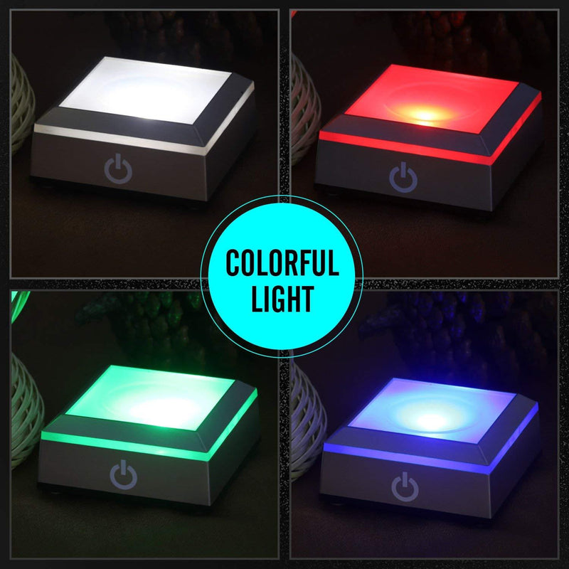 LED Light Stand Base With Touch Switch | Gifts Ideas, Decor, Lighting & More | StylishGram