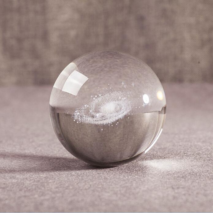 3D Galaxy Crystal Ball | Gifts Ideas, Crystal Ball Decor, Lighting & More | StylishGram