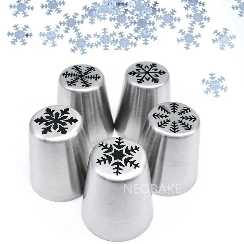 Holiday Icing Piping Nozzles (15pc)