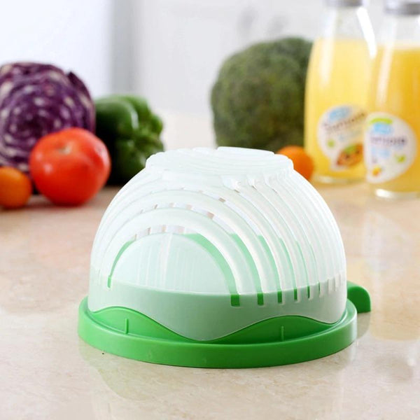 Salad Cutter Bowl