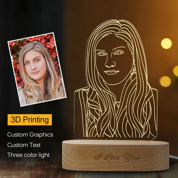 DIY Personalized 3D Night Light