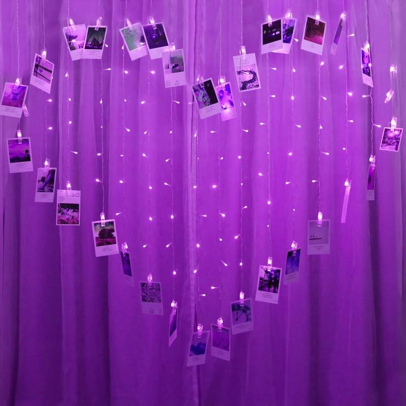 Heart Shape Photo String Lights | Lightening Decoration, Home Decoration, Gifts Ideas, Crystal Ball Decor, Lighting & More | StylishGram