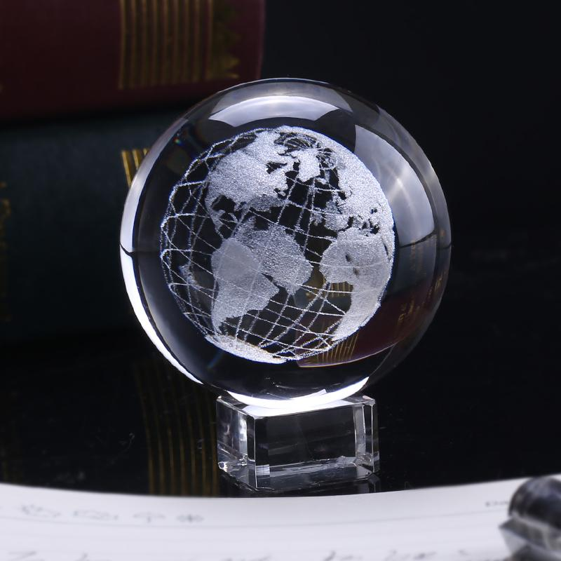 3D Earth Crystal Ball | Gifts Ideas, Crystal Ball Decor, Lighting & More | StylishGram