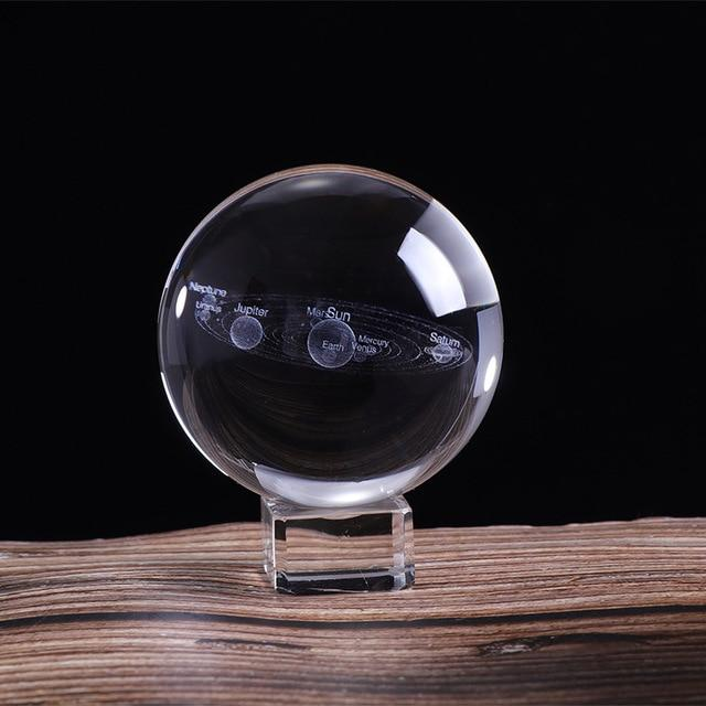 3D Solar System Crystal Ball (Big Size) | Gifts Ideas, Crystal Ball Decor, Lighting & More | StylishGram